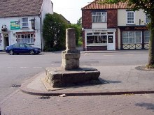Barrow-Upon-Humber, Old Cross, Lincolnshire © David Wright